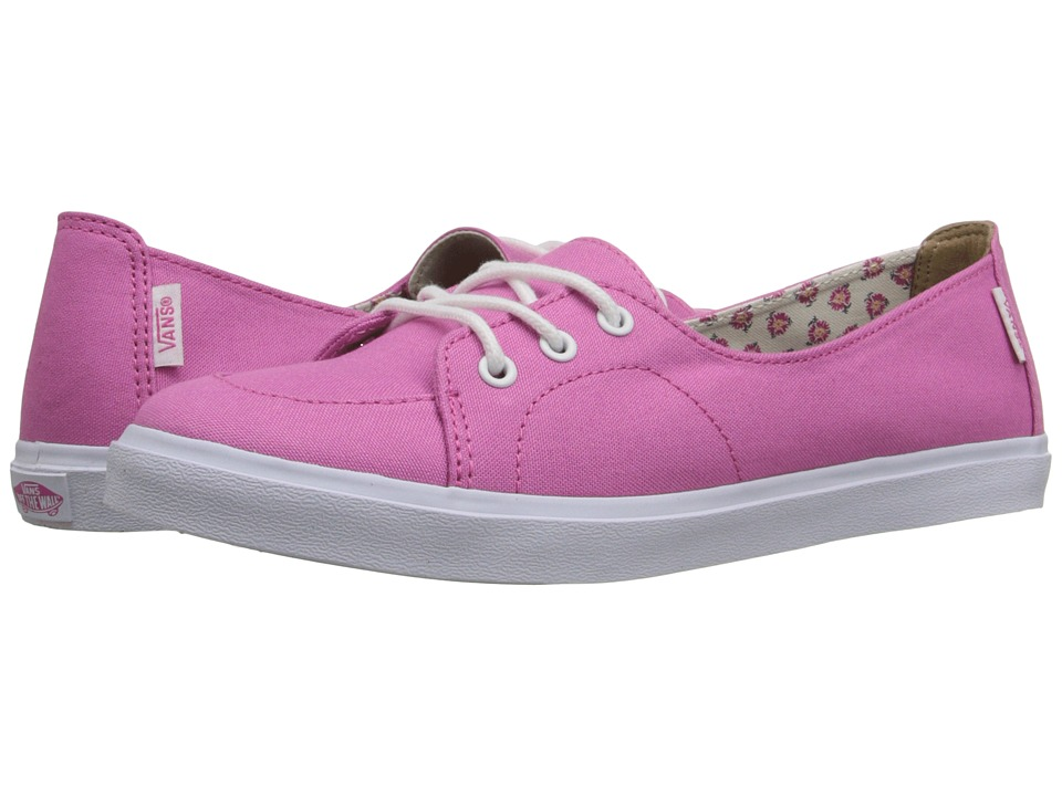 Vans - Palisades SF ((Tropical Floral) Ibis Rose) Women's Slip on Shoes