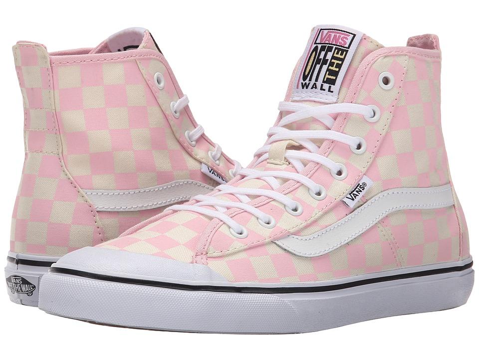Vans - Dazie-Hi ((Checkerboard) Barely Pink) Women's Shoes