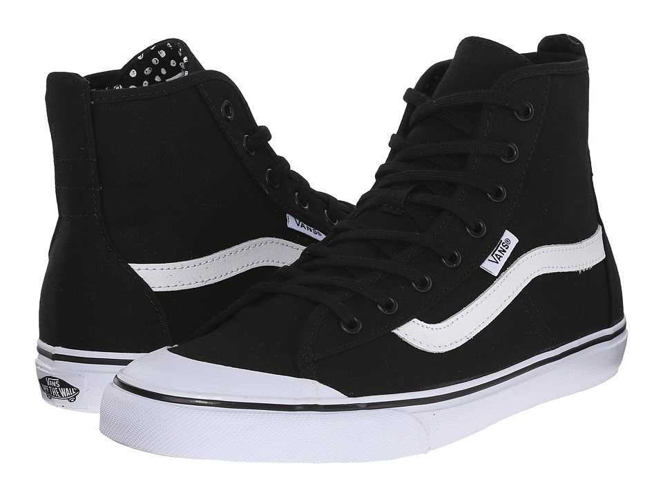Vans - Dazie-Hi ((Dots) Black) Women's Shoes