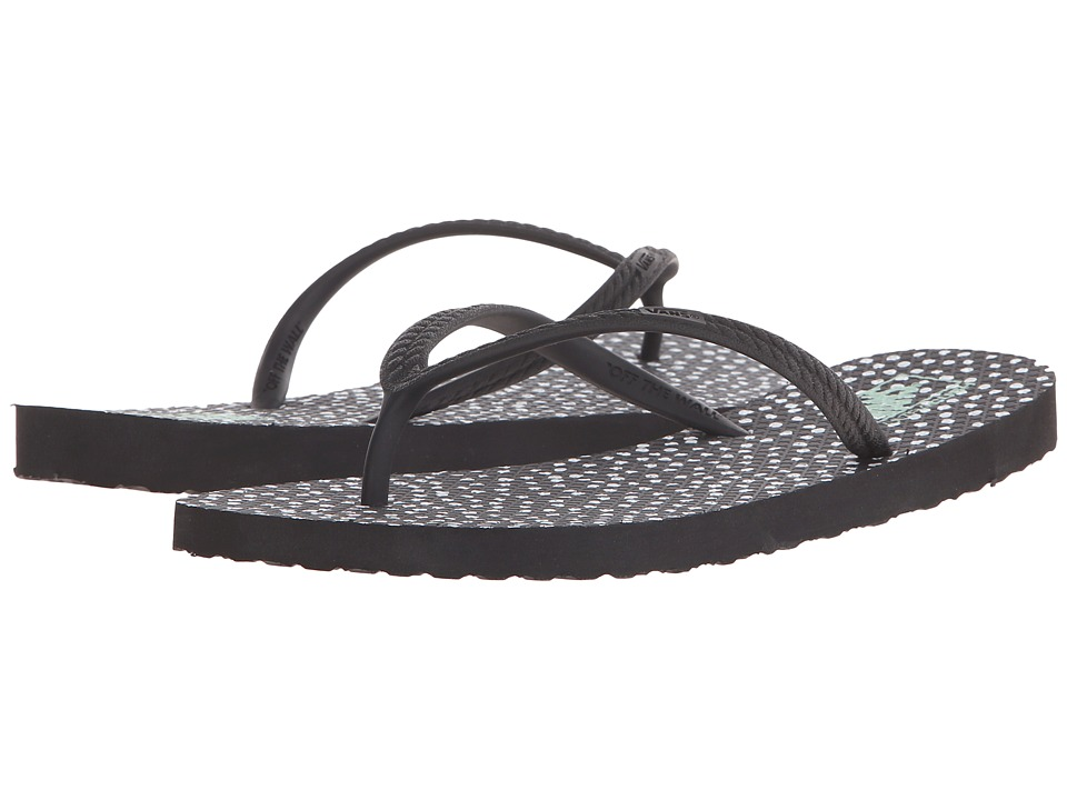 Vans - Hanelei ((Doodle Dots) Black/White) Women's Sandals