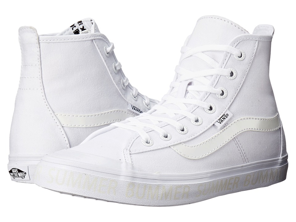 Vans - Dazie-Hi ((Summer Bummer) Glow'n the Dark/White) Women's Shoes