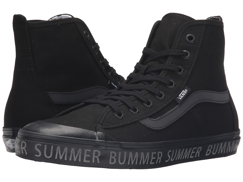 Vans - Dazie-Hi ((Summer Bummer) Reflective/Black) Women's Shoes
