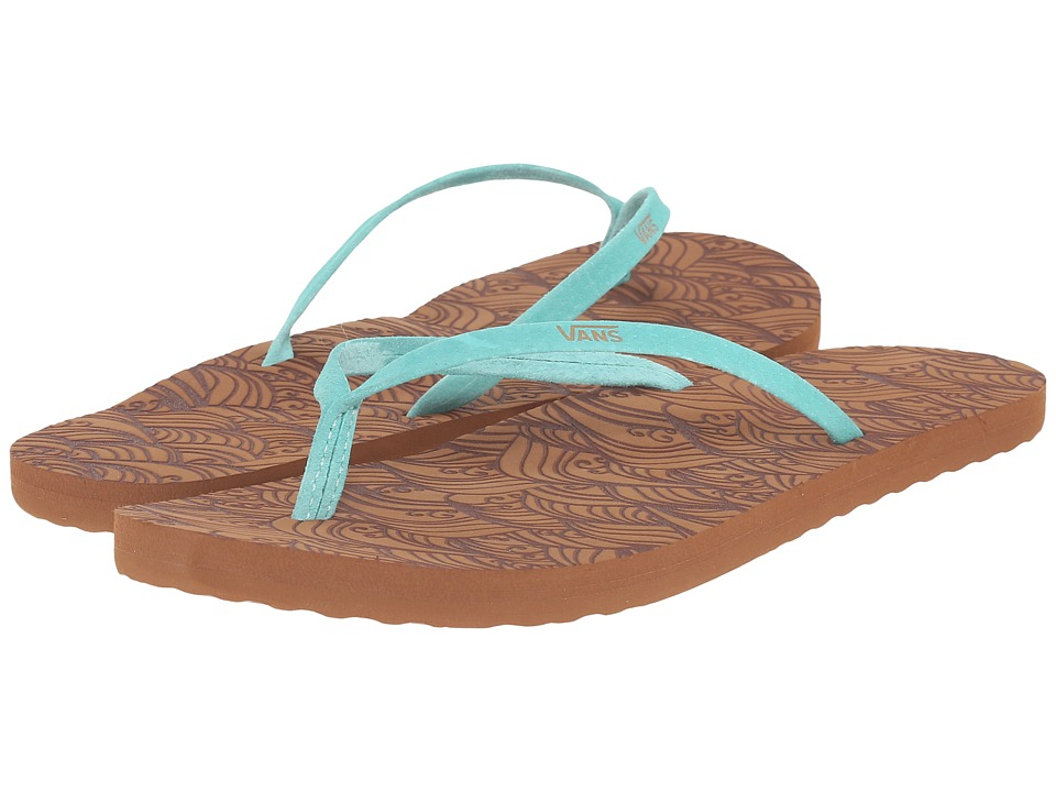 Vans - Malta LUX ((Waves) Sea Blue) Women's Sandals
