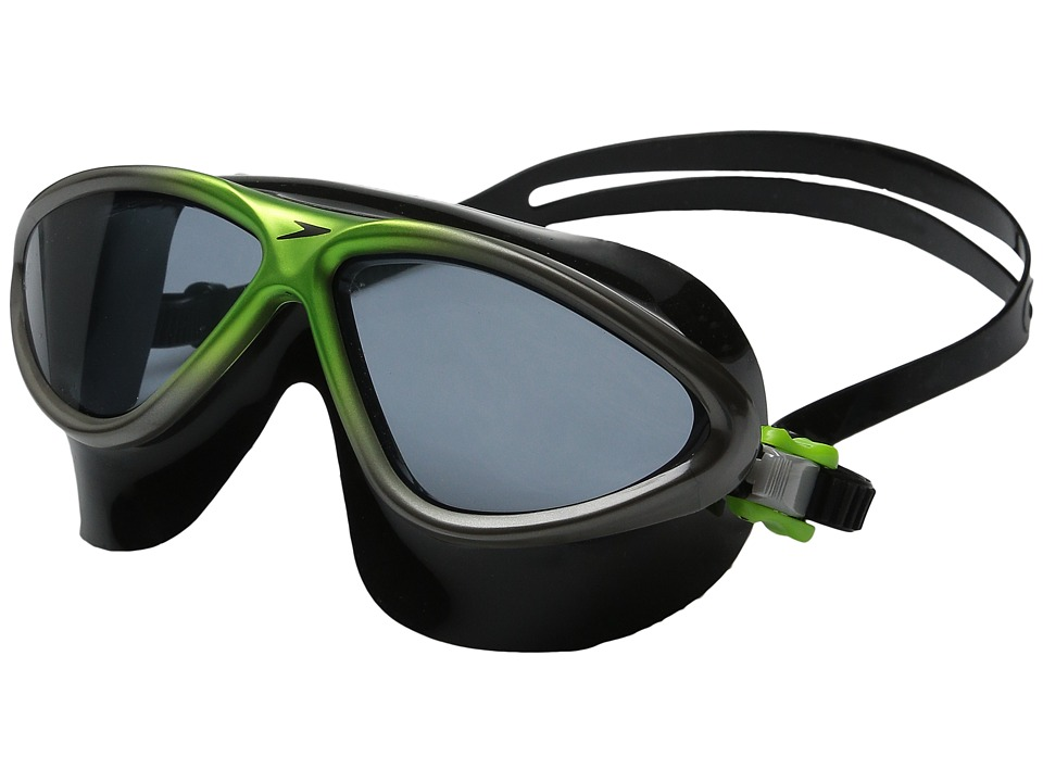 Speedo - Occulus Prime Goggle (Citrus Green/Charcoal) Water Goggles