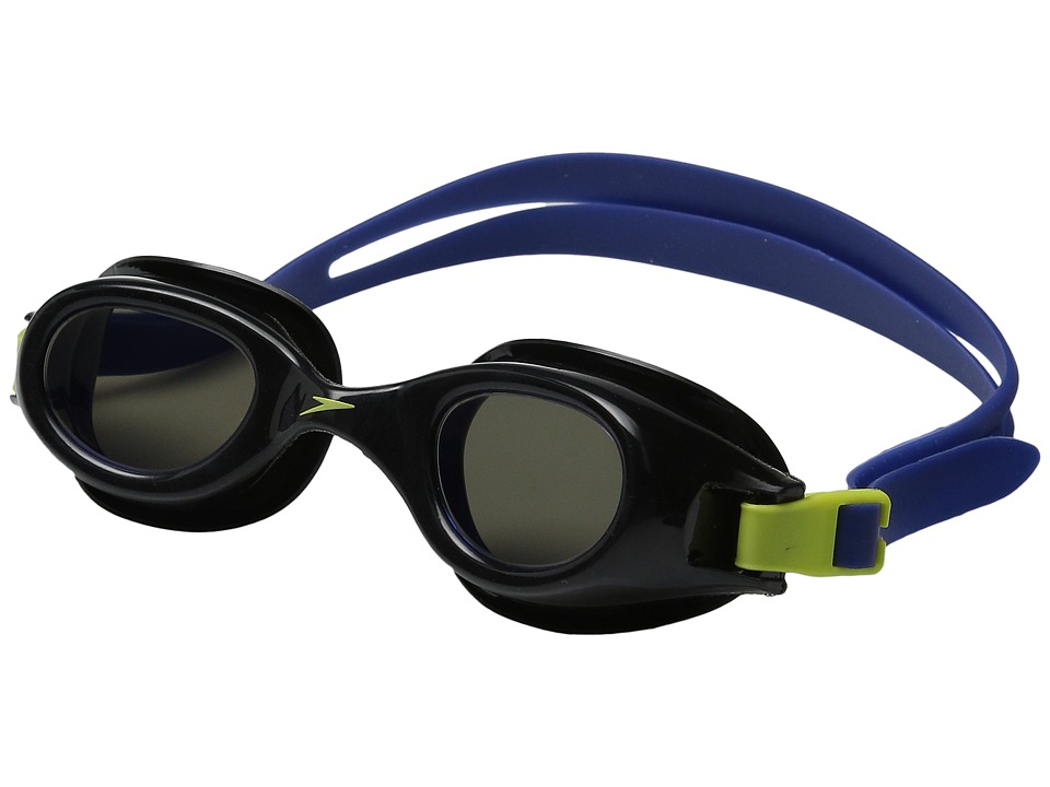 Speedo - Hydrospex Classic Mirrored Goggle (Speedo Black) Water Goggles