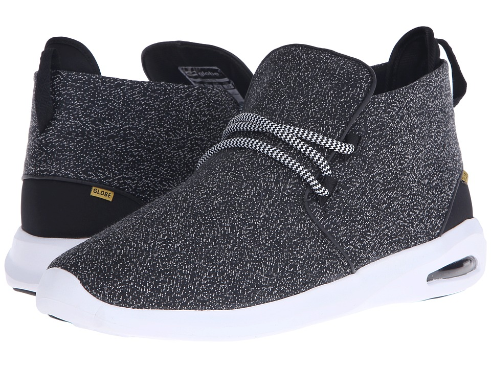 Globe - Nepal Lyte (Black Knit Textile) Men's Skate Shoes