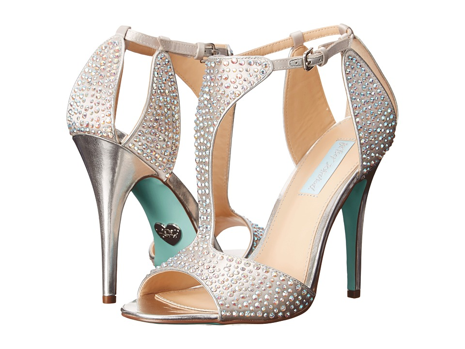 Blue by Betsey Johnson - Ido (Silver) High Heels