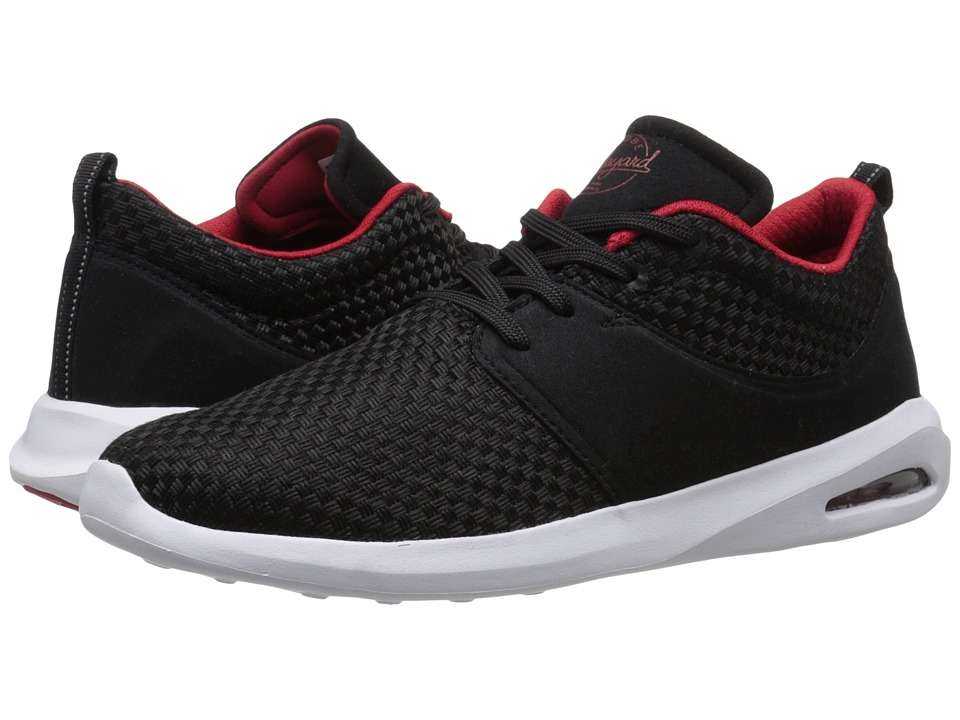 Globe - Mahalo Lyte (Black/Red) Men's Skate Shoes