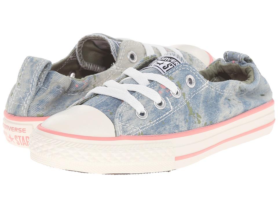 Converse Kids - Chuck Taylor(r) All Star(r) Shoreline (Little Kid/Big Kid) (Daybreak Pink/Pistachio Green/Street Sage) Girls Shoes