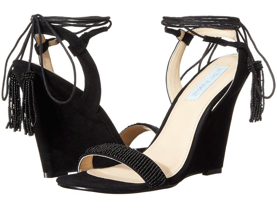 Blue by Betsey Johnson - Faye (Black Suede) Women
