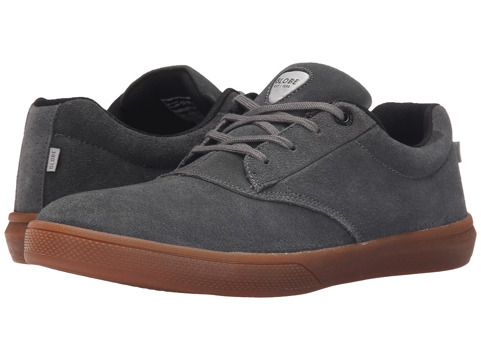 Globe - The Eagle (Charcoal/Gum Suede) Men's Skate Shoes