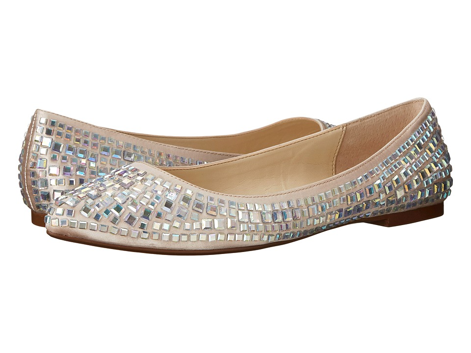Blue by Betsey Johnson - Coco (Champagne Satin) Women's Flat Shoes
