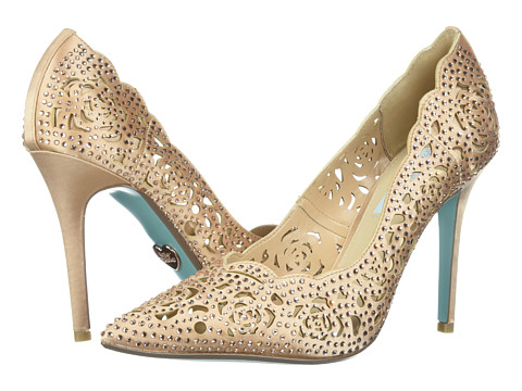 Blue by Betsey Johnson - Elsa (Blush Satin) High Heels