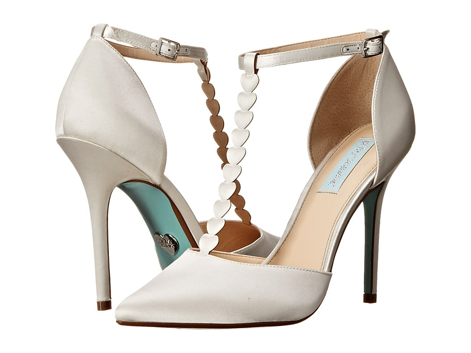 Blue by Betsey Johnson - Cece (Ivory Satin) High Heels