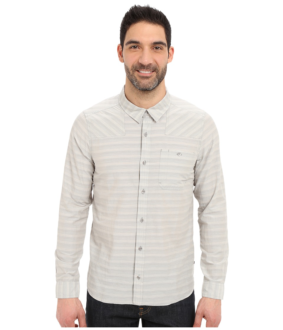 Toad&Co - Wonderer L/S Shirt (Light Ash) Men's Long Sleeve Button Up