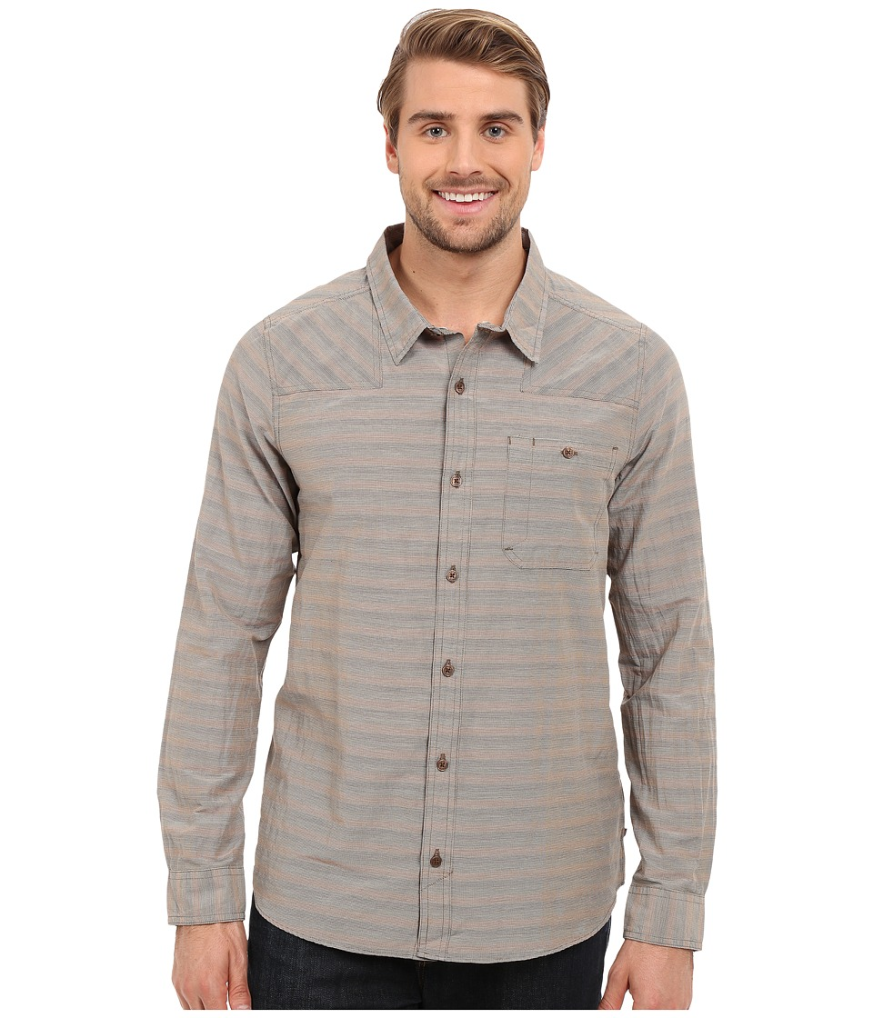 Toad&Co - Wonderer L/S Shirt (Jeep) Men's Long Sleeve Button Up