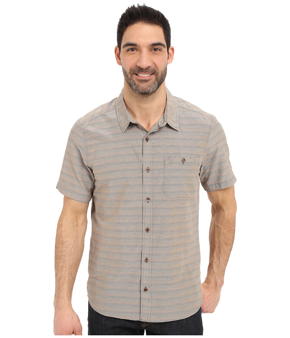 Toad&Co - Wonderer S/S Shirt (Jeep) Men's Short Sleeve Button Up