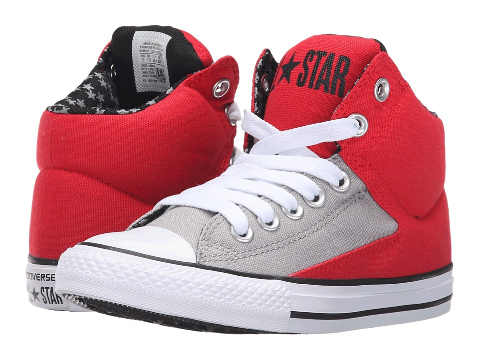 Converse Kids - Chuck Taylor All Star High Street Hi (Little Kid/Big Kid) (Casino/Dolphin/White) Boys Shoes
