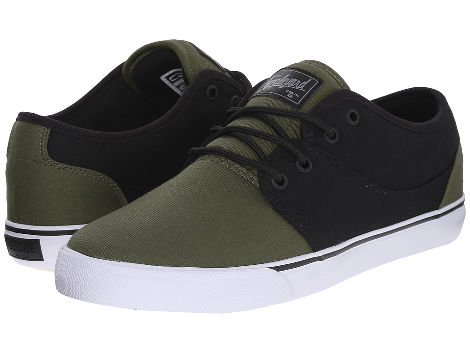 Globe - Mahalo (Black/Olive) Men's Skate Shoes