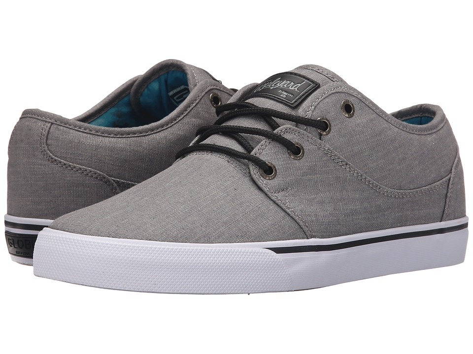 Globe - Mahalo (Grey Chambray) Men's Skate Shoes