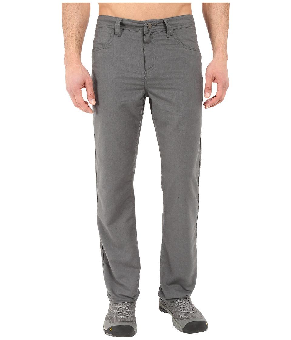 Toad&Co - Kerouac Pants (Dark Graphite) Men's Casual Pants