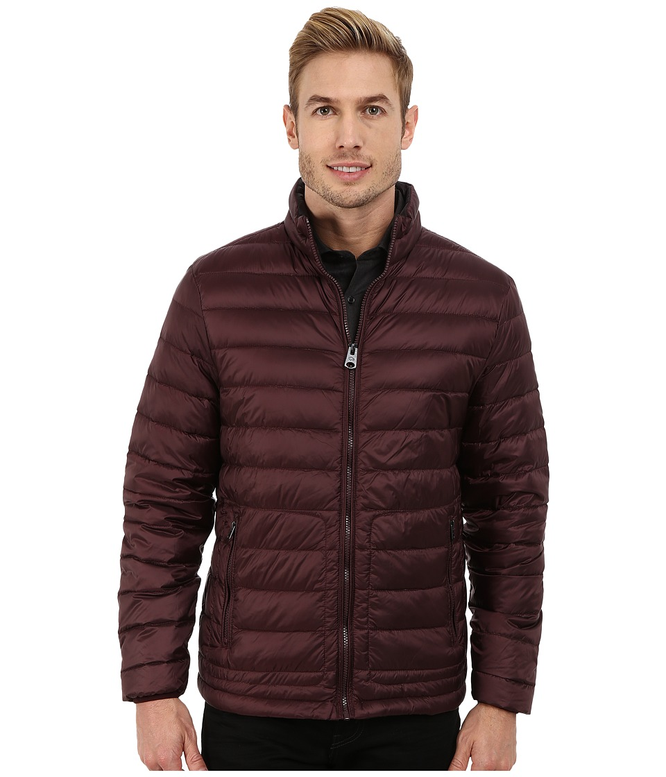Buffalo David Bitton - Quilted Jacket (Burgundy) Men's Coat