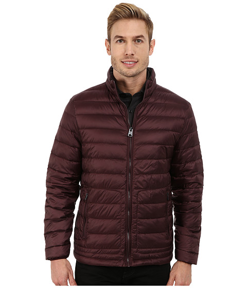Buffalo David Bitton - Quilted Jacket (Burgundy) Men
