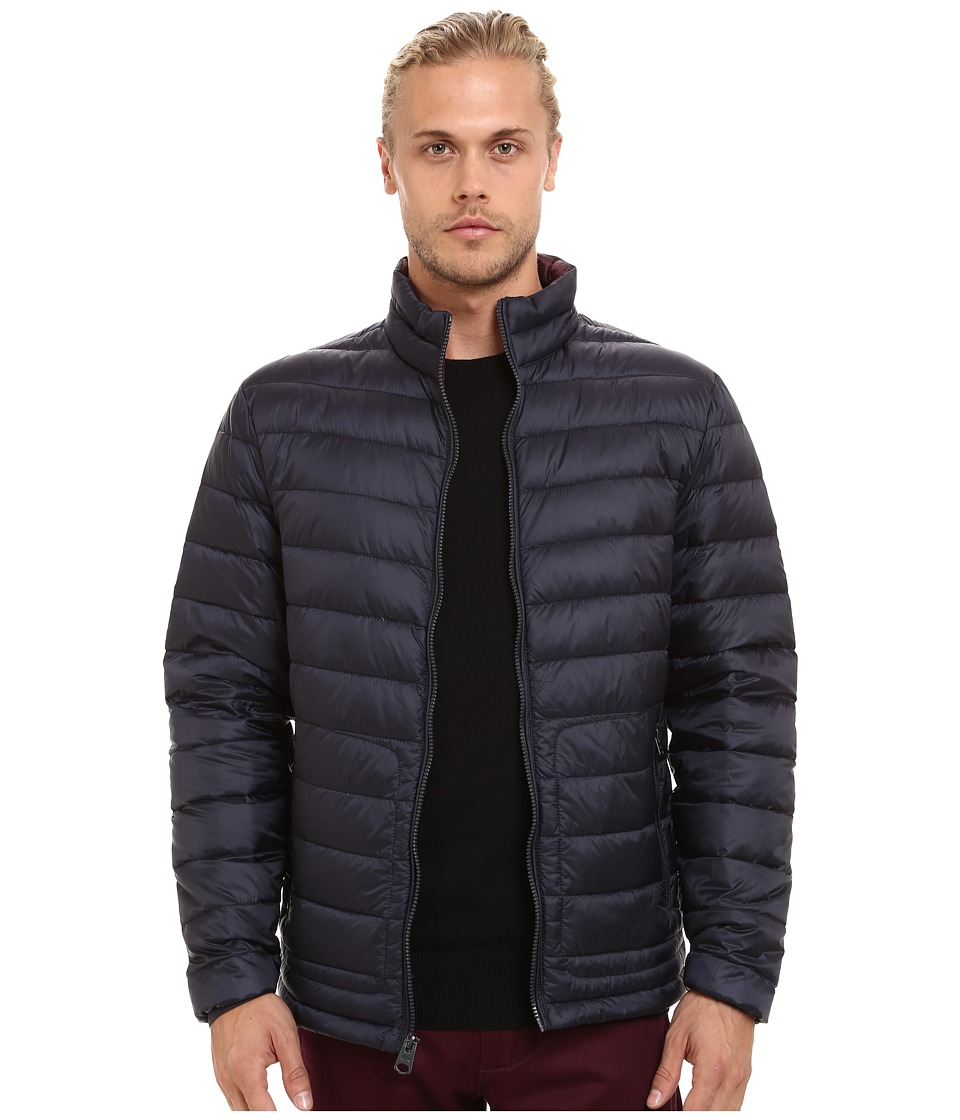 Buffalo David Bitton - Quilted Jacket (Dark Navy) Men's Coat
