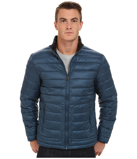 Buffalo David Bitton - Quilted Jacket (Major Blue) Men