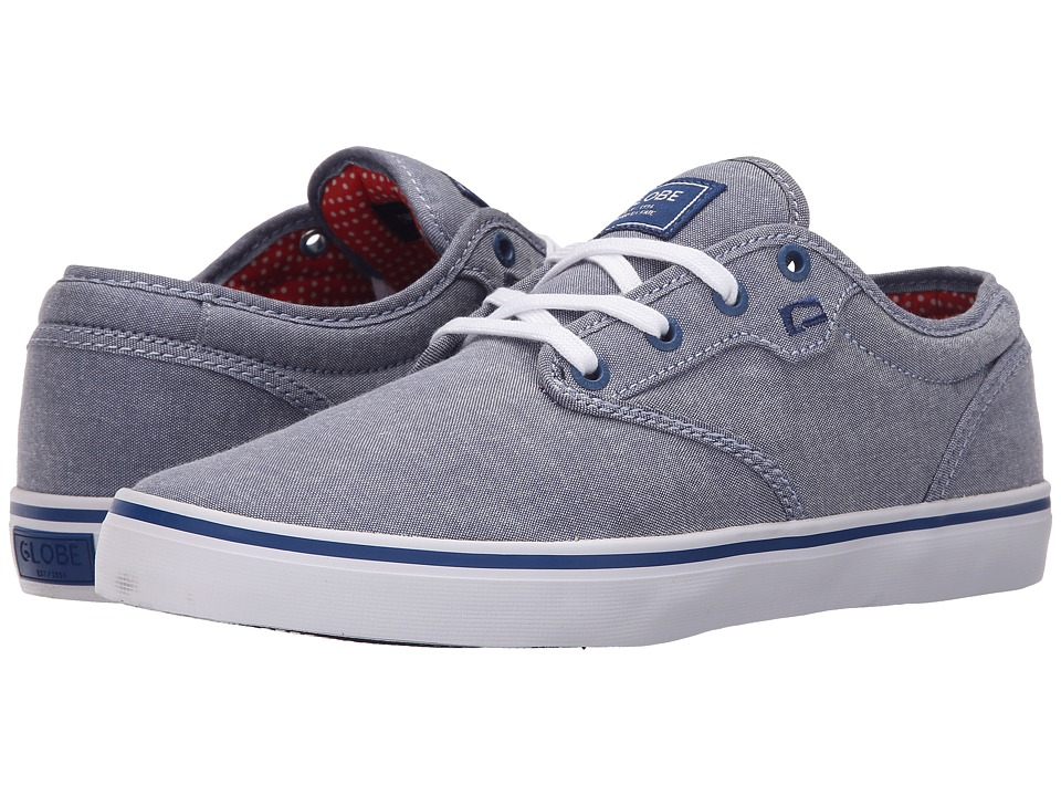 Globe - Motley (Navy Chambray) Men's Skate Shoes