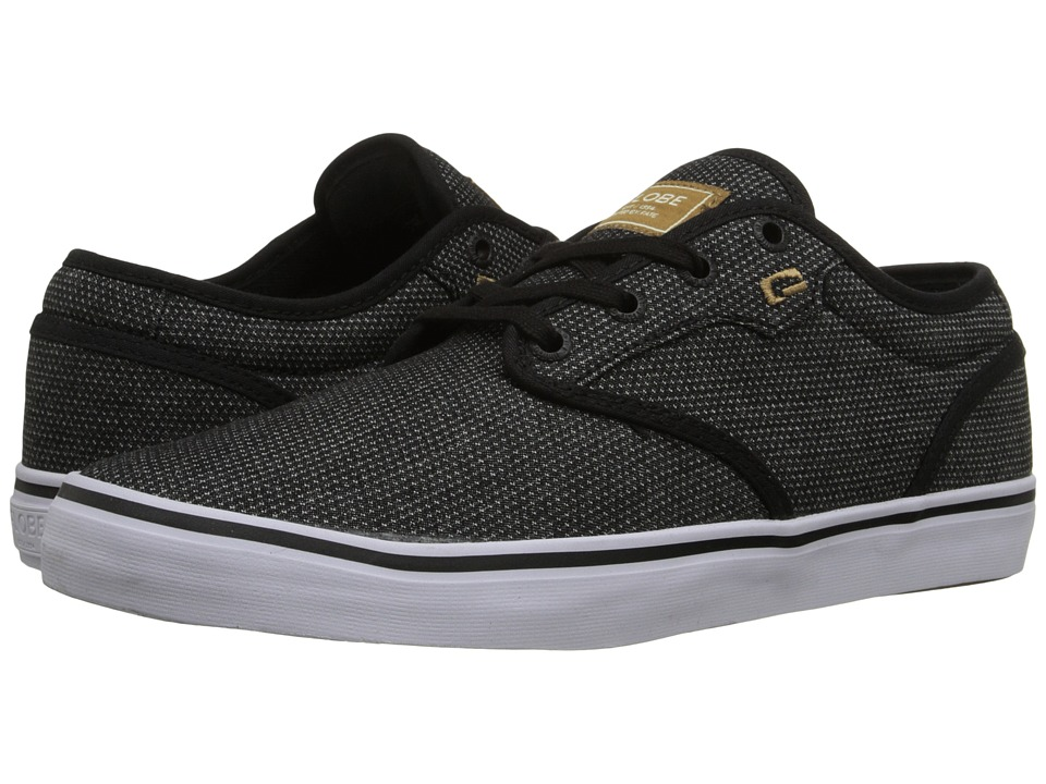 Globe - Motley (Black Woven) Men's Skate Shoes