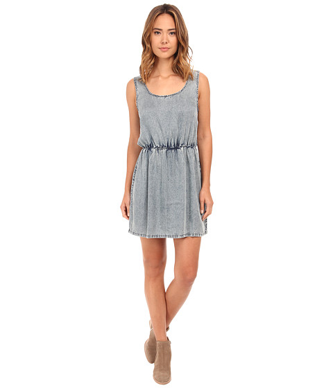 Olive & Oak - Tencel Denim Dress in Stone Wash Blue (Stone Blue Wash) Women