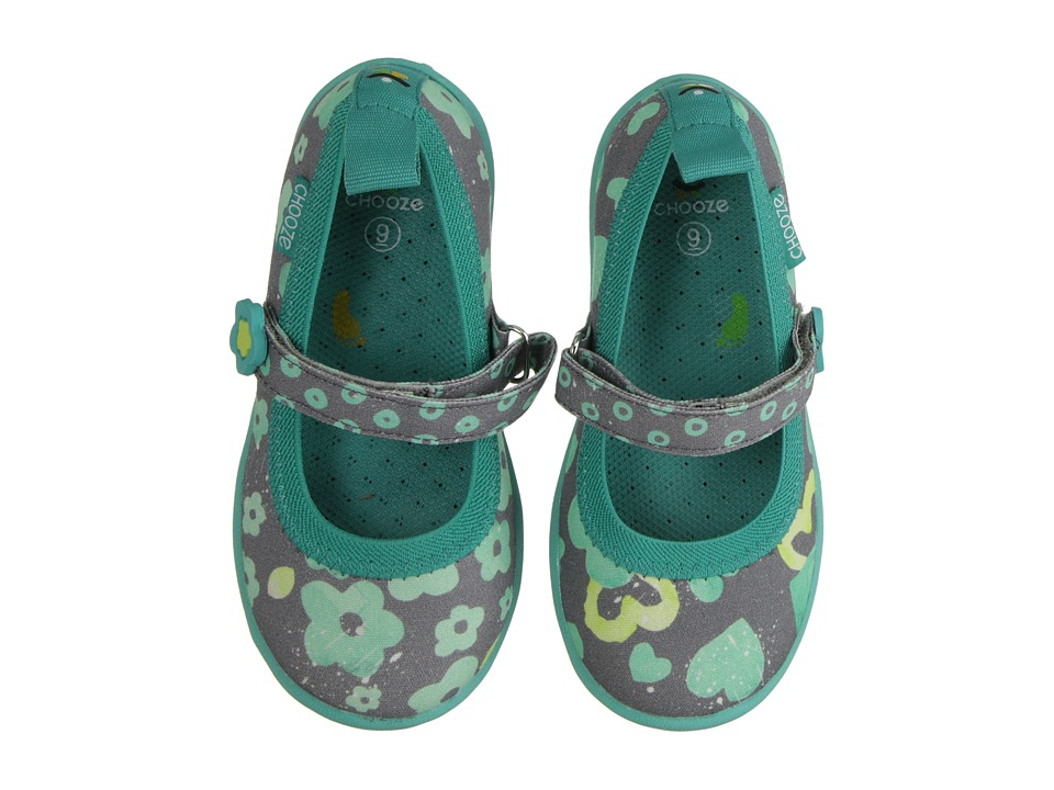 CHOOZE - Jump (Toddler/Little Kid) (Blossom) Girl's Shoes