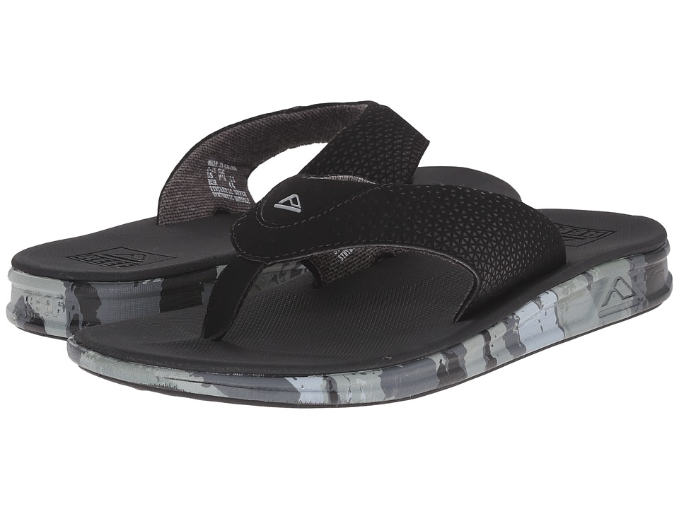 Reef - Rover Prints (Charcoal/Camo) Men's Sandals