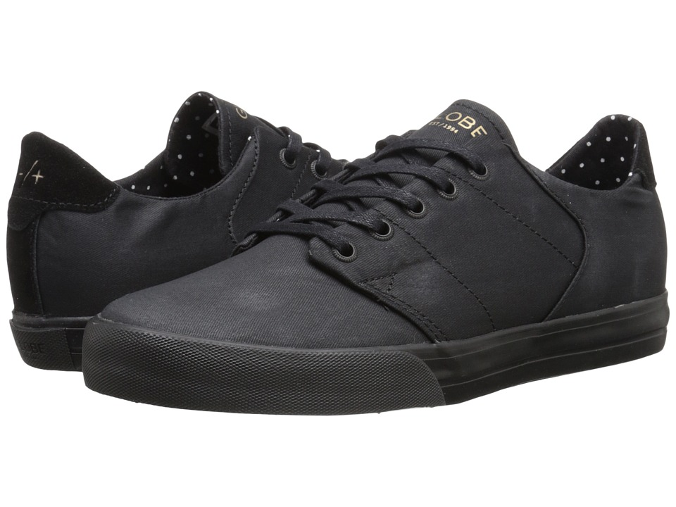 Globe - Los Angered Low (Black) Men's Skate Shoes
