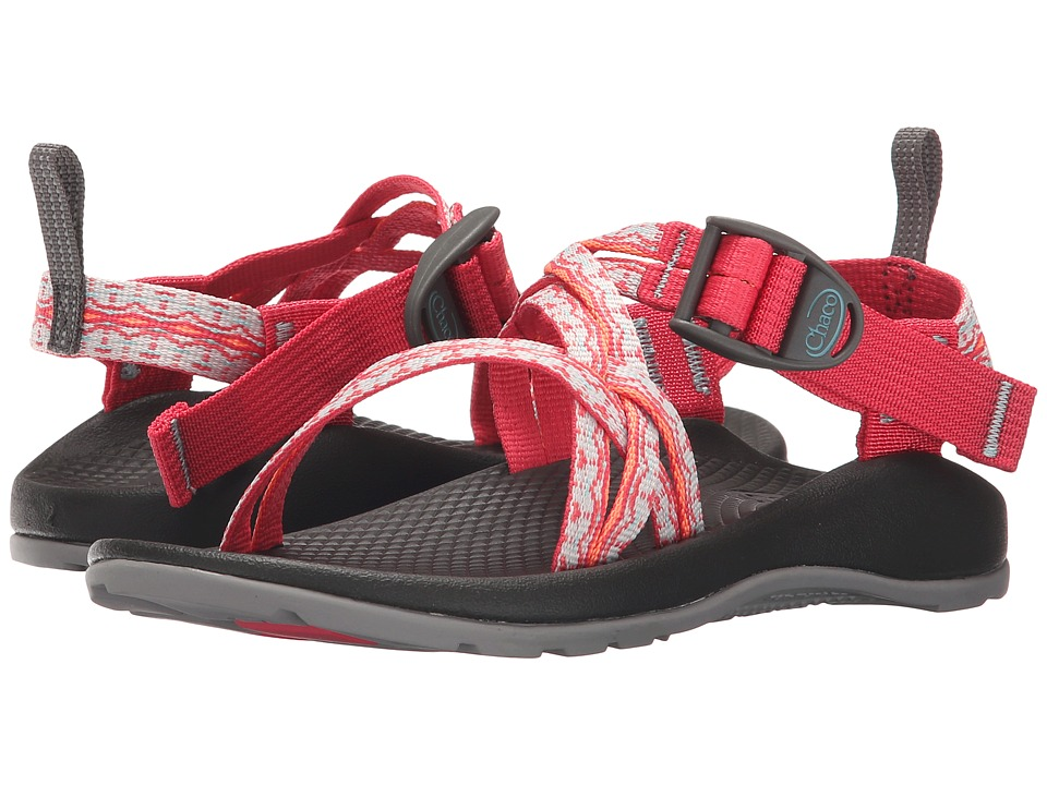 Chaco Kids - ZX/1 Ecotread (Toddler/Little Kid/Big Kid) (Chantilly Rouge) Girls Shoes