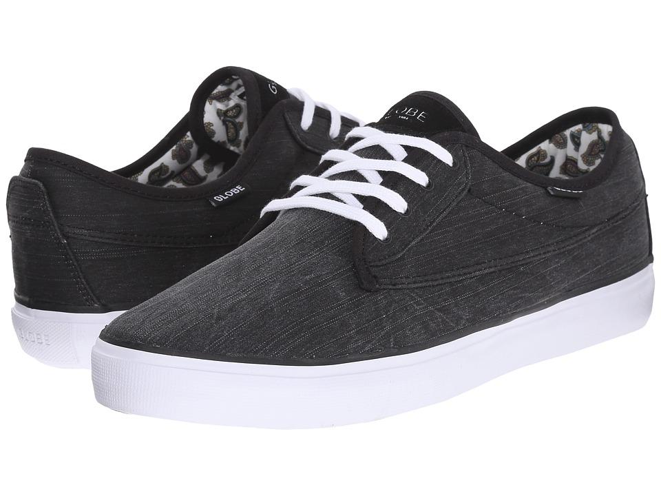 Globe Chaussures CHASE black white Globe soldes szrCM