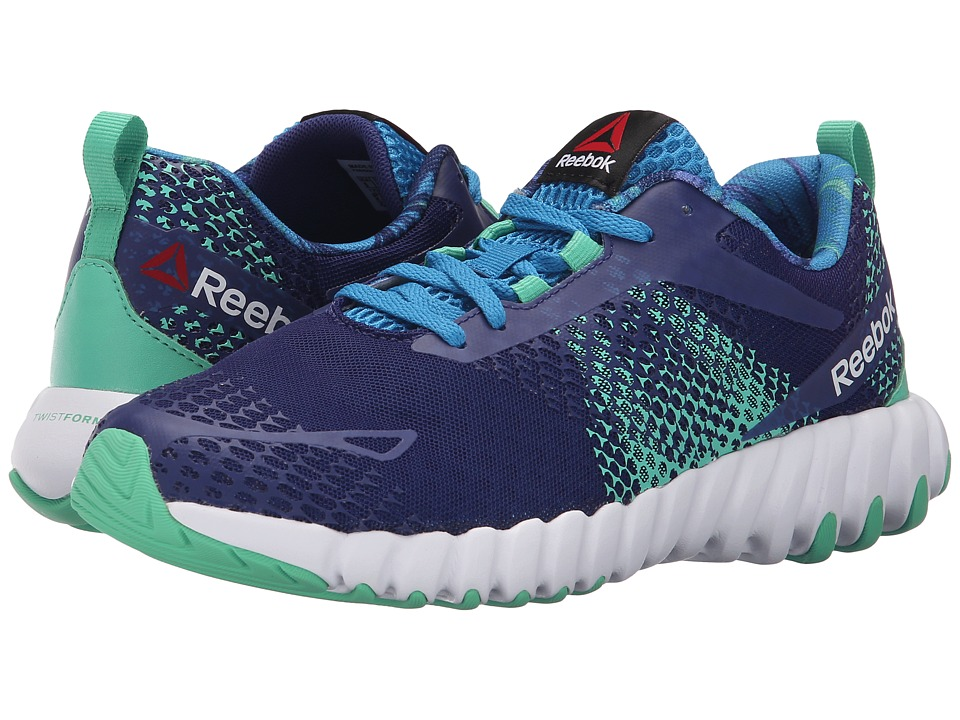 Reebok - Twistform Blaze MT (Night Beacon/Electric Blue/White/Exotic Teal) Women's Running Shoes
