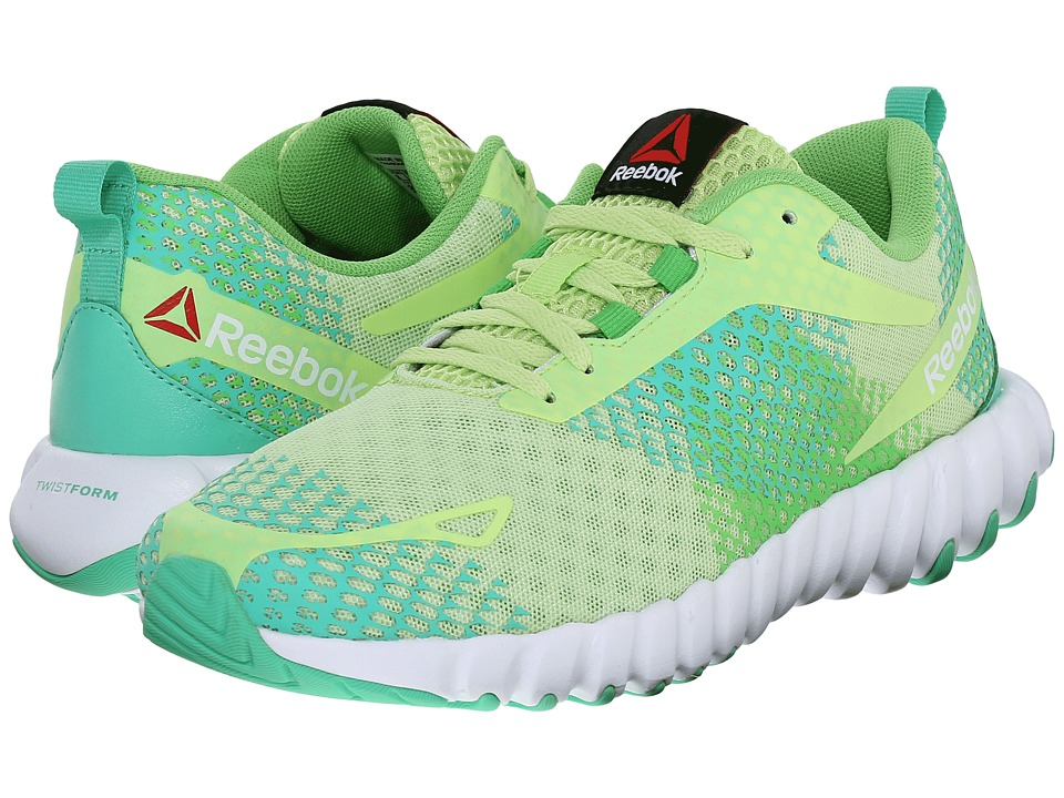 Reebok Twistform Blaze MT (Luminous Lime/Bright Green/Exotic Teal/White) Women