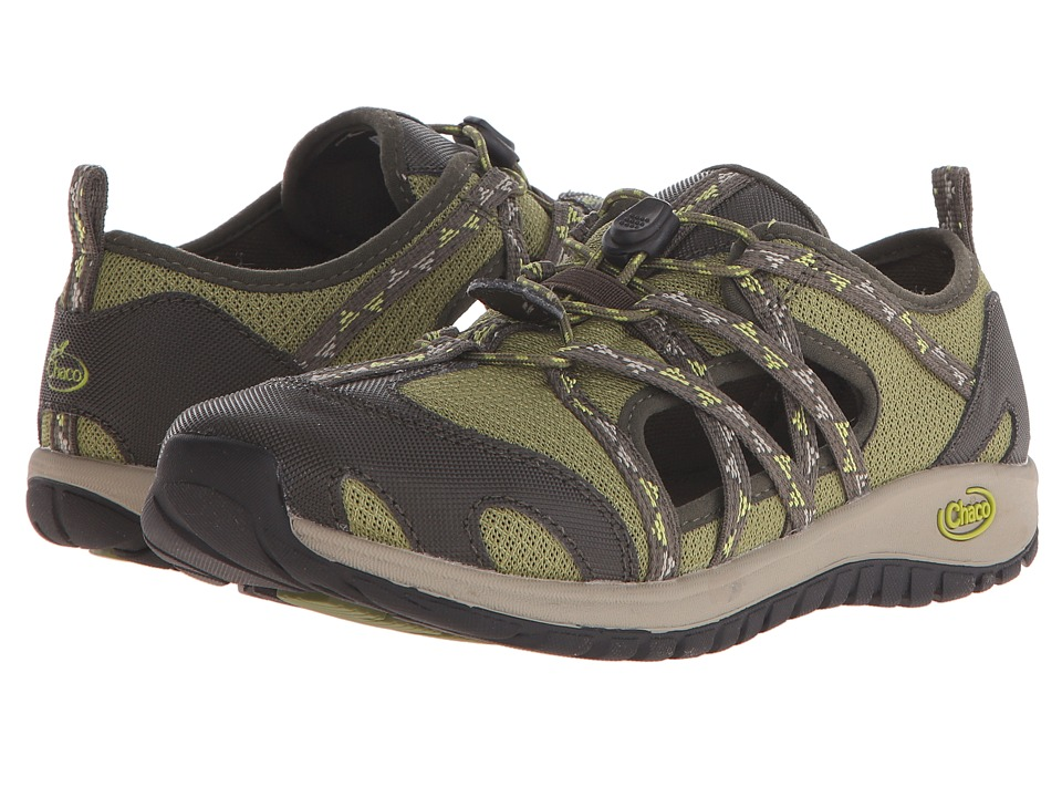 Chaco Kids - Outcross (Toddler/Little Kid/Big Kid) (York Olive) Kids Shoes