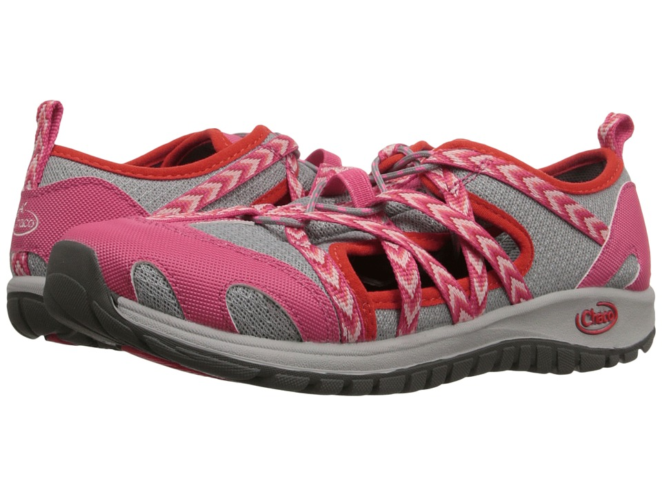 Chaco Kids - Outcross (Toddler/Little Kid/Big Kid) (Fiesta Rose) Girls Shoes