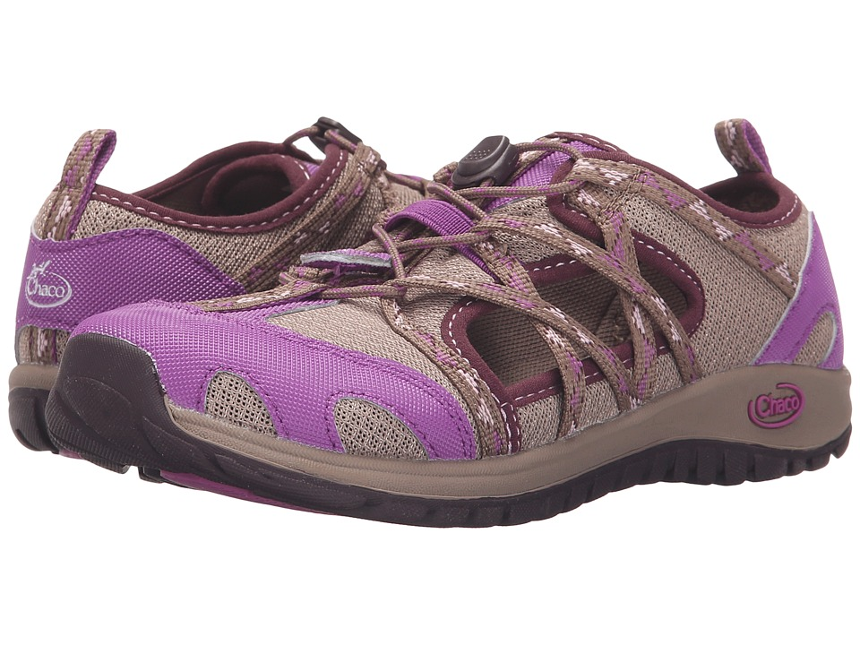 Chaco Kids - Outcross (Toddler/Little Kid/Big Kid) (York Violet) Girls Shoes
