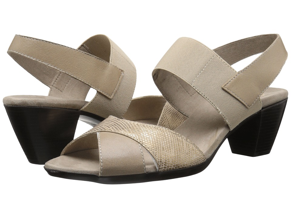 Munro - Darling (Taupe Metallic Combo) Women's Sling Back Shoes