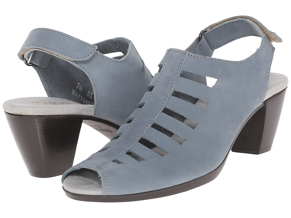 Munro - Abby (Soft Blue Nubuck) Women's Shoes