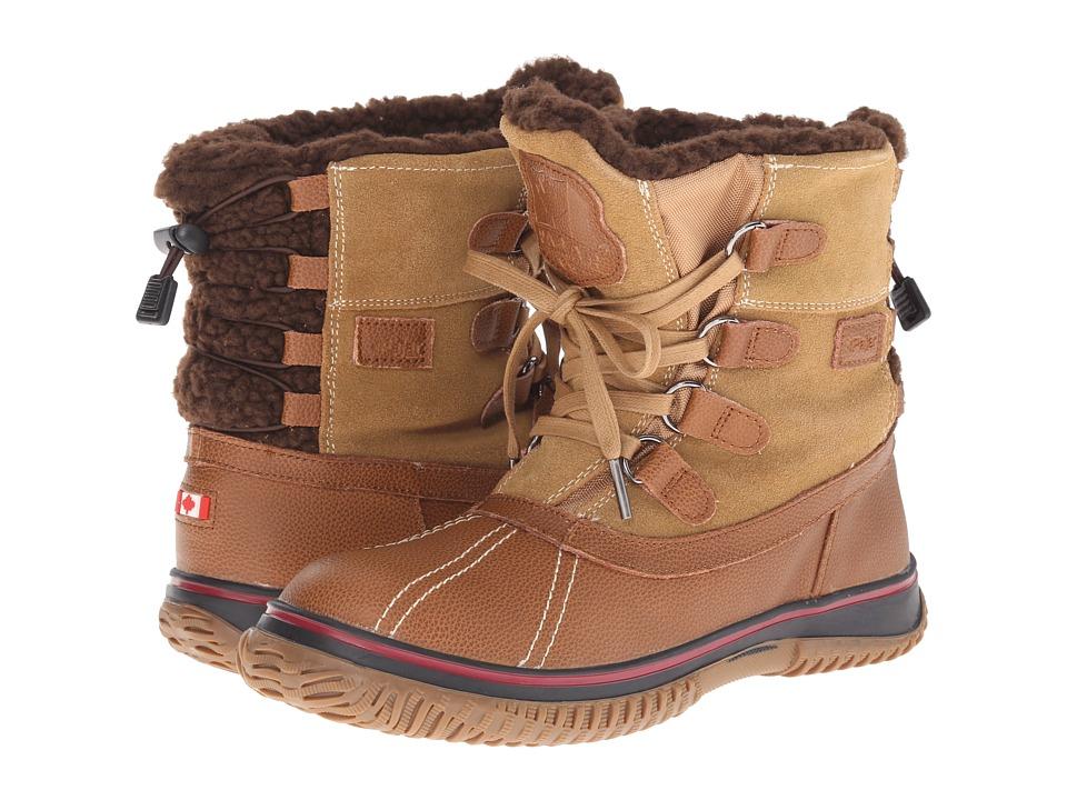 Pajar CANADA - Iceland (Cognac/Tan) Women's Boots