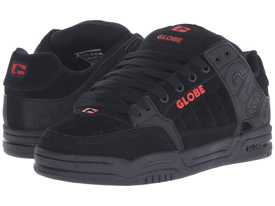 Globe - Tilt (Black/Red) Men's Skate Shoes