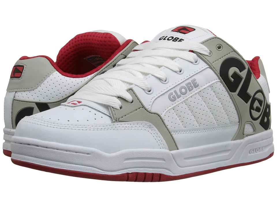 Globe - Tilt (White/Red) Men's Skate Shoes