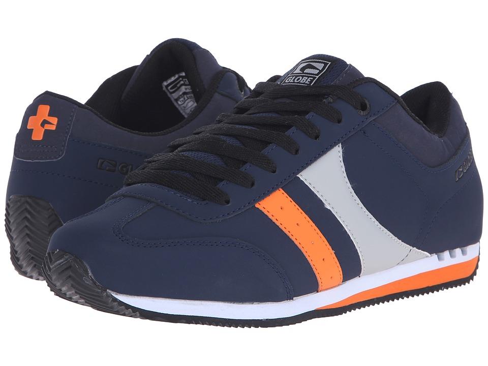 Globe - Pulse (Navy/Grey/Orange) Men's Skate Shoes