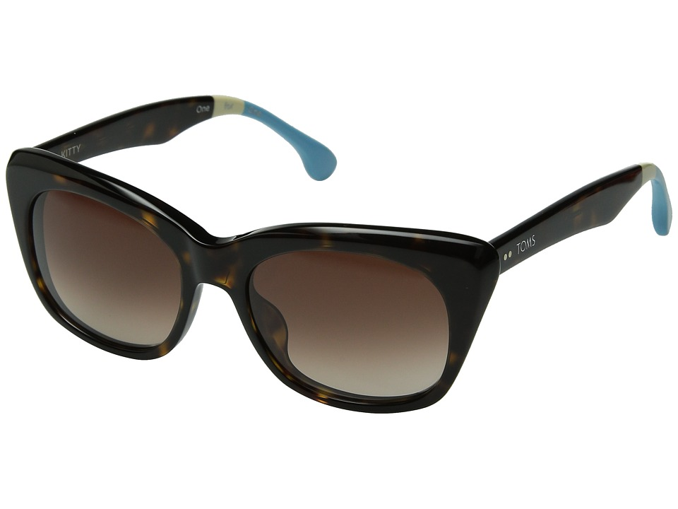 TOMS - Kitty (Tortoise) Fashion Sunglasses