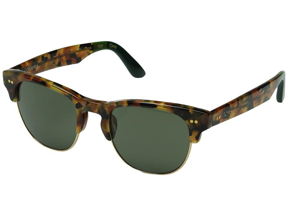 TOMS - Lobamba (Panama Tortoise) Fashion Sunglasses